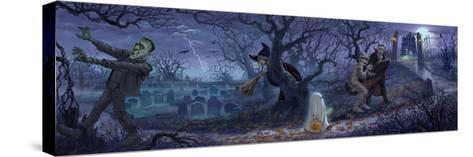 Halloween Scene-Jason Bullard-Stretched Canvas Print