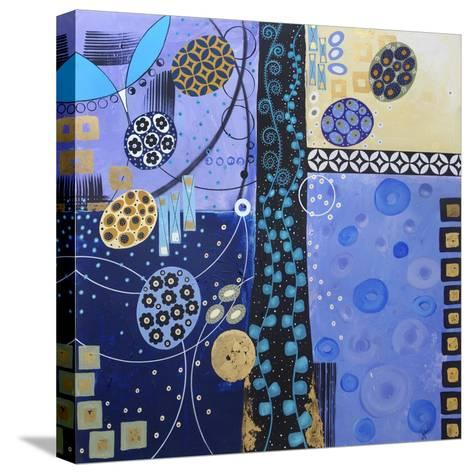 Champagne Wishes and Caviar Dreams-Lynn Hughes-Stretched Canvas Print