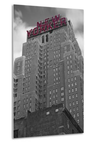 New Yorker-Moises Levy-Metal Print