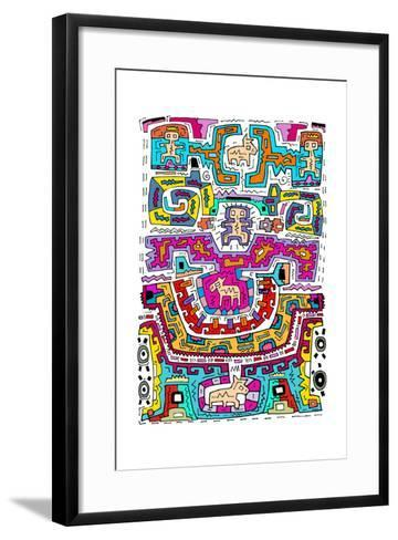 Circuits X A-Miguel Balb?s-Framed Art Print