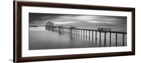 Piers End Pano-Moises Levy-Framed Art Print