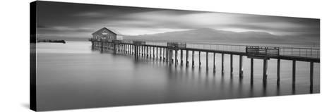 Piers End Pano-Moises Levy-Stretched Canvas Print