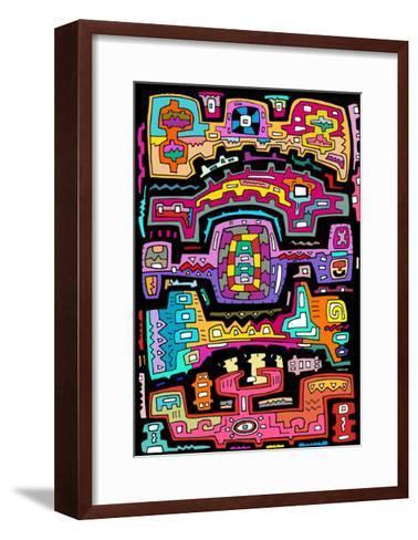 Circuits VII BBG-Miguel Balb?s-Framed Art Print