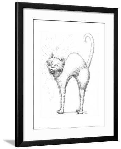 Love Scratch Pencil-Jeff Haynie-Framed Art Print