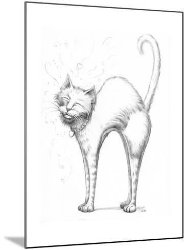 Love Scratch Pencil-Jeff Haynie-Mounted Giclee Print