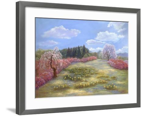 Azalea Meadow-Judy Mastrangelo-Framed Art Print