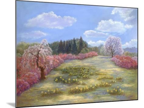 Azalea Meadow-Judy Mastrangelo-Mounted Giclee Print