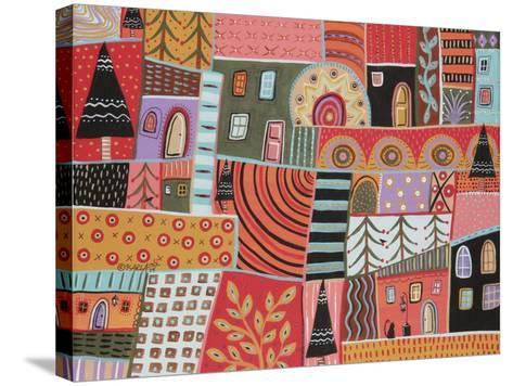 Florid Terrain 1-Karla Gerard-Stretched Canvas Print