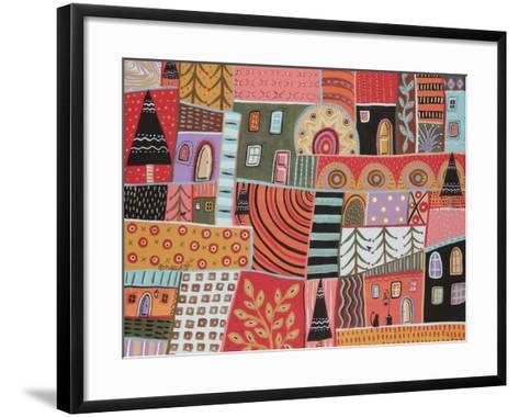 Florid Terrain 1-Karla Gerard-Framed Art Print