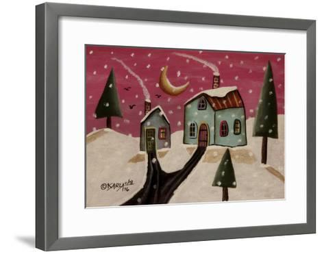 Fuschia Sky-Karla Gerard-Framed Art Print