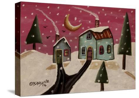 Fuschia Sky-Karla Gerard-Stretched Canvas Print