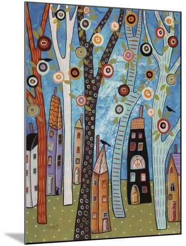 Town Cat 1-Karla Gerard-Mounted Giclee Print