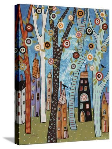 Town Cat 1-Karla Gerard-Stretched Canvas Print