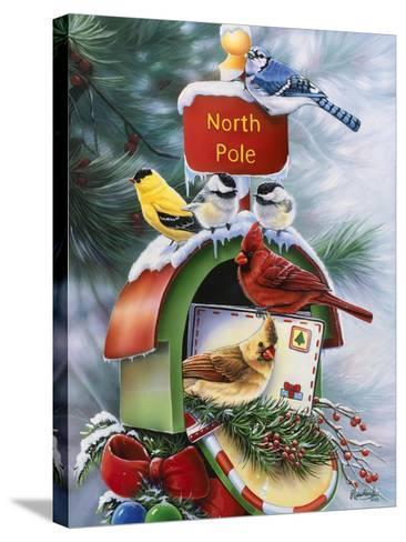 North Pole-Jenny Newland-Stretched Canvas Print