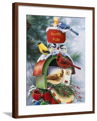 North Pole-Jenny Newland-Framed Art Print