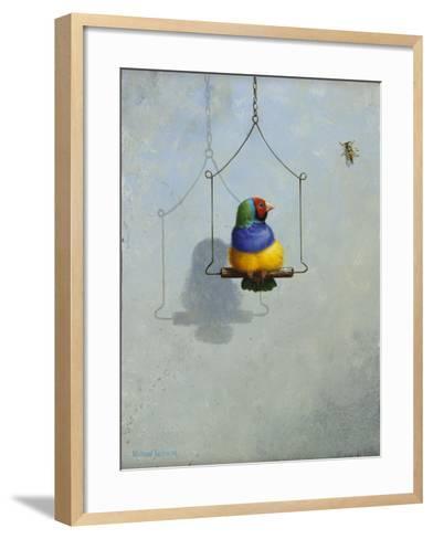 Gouldian Finch-Michael Jackson-Framed Art Print