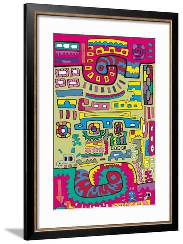 Connections-Miguel Balb?s-Framed Art Print