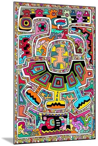 Circuits XXI-Miguel Balb?s-Mounted Giclee Print