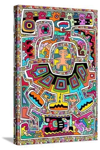 Circuits XXI-Miguel Balb?s-Stretched Canvas Print