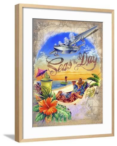 Seas Day-James Mazzotta-Framed Art Print