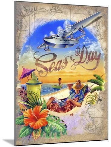 Seas Day-James Mazzotta-Mounted Giclee Print