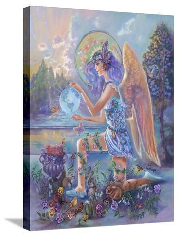 Guardian Angel of the World-Judy Mastrangelo-Stretched Canvas Print