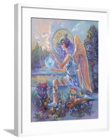 Guardian Angel of the World-Judy Mastrangelo-Framed Art Print