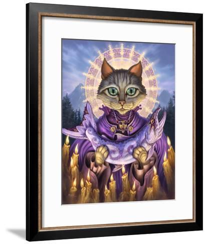 Saint of Salmons-Jeff Haynie-Framed Art Print