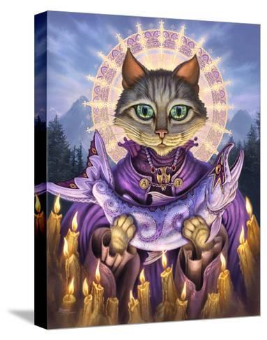 Saint of Salmons-Jeff Haynie-Stretched Canvas Print