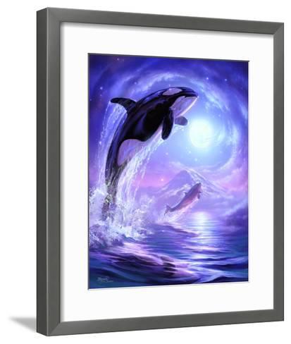 Aquatic Touch the Sky-Jeff Haynie-Framed Art Print