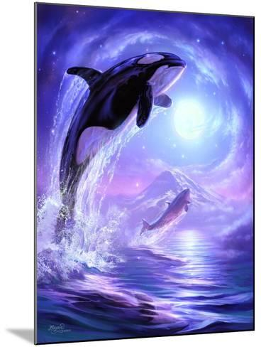Aquatic Touch the Sky-Jeff Haynie-Mounted Giclee Print