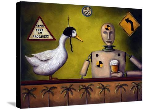 Drink Test Dummy-Leah Saulnier-Stretched Canvas Print
