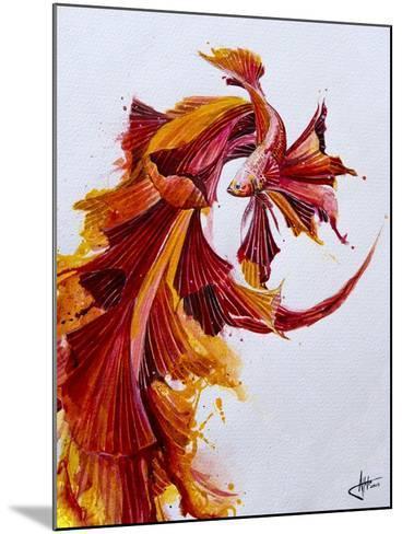 Ignite Vertical-Marc Allante-Mounted Giclee Print