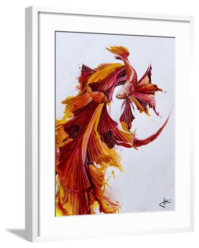 Ignite Vertical-Marc Allante-Framed Art Print