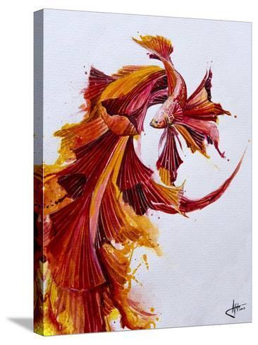 Ignite Vertical-Marc Allante-Stretched Canvas Print