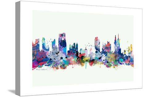 New York Mark 3-Mark Ashkenazi-Stretched Canvas Print