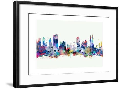 New York Mark 3-Mark Ashkenazi-Framed Art Print