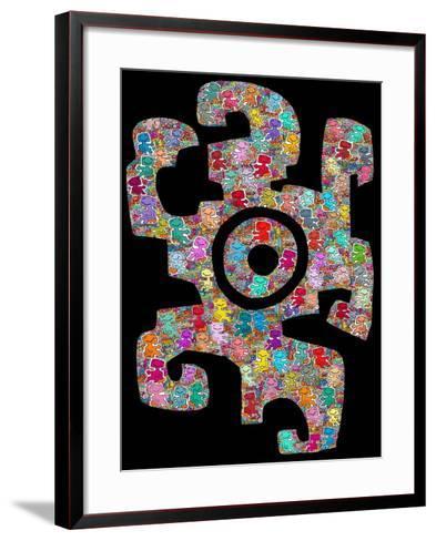 Lend a Hand-Miguel Balb?s-Framed Art Print
