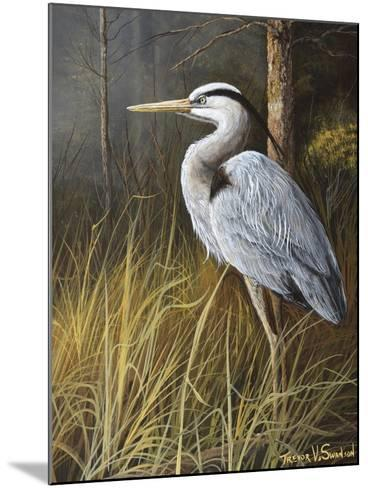 Guard at Water's Edge-Trevor V. Swanson-Mounted Giclee Print