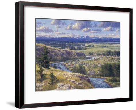 Little Big Horn-Randy Van Beek-Framed Art Print
