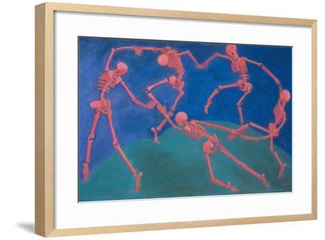 The (Skelly) Dance-Marie Marfia Fine Art-Framed Art Print