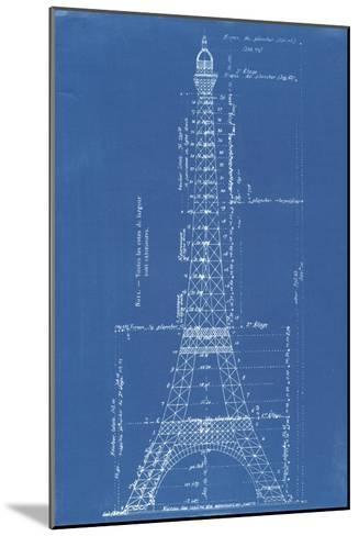 Eiffel tower blueprint giclee print by vintage apple collection eiffel tower blueprint vintage apple collection mounted giclee print malvernweather Image collections