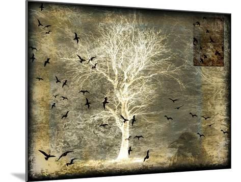 A Raven's World Spirit Tree-LightBoxJournal-Mounted Giclee Print
