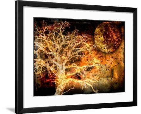 A Raven's World-LightBoxJournal-Framed Art Print