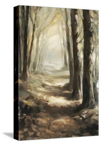 Forest Path Oil-Steve Henderson-Stretched Canvas Print