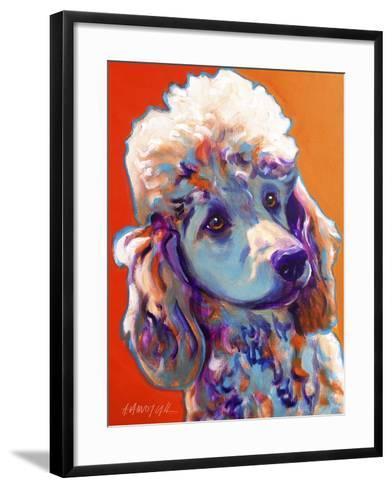Poodle - Bonnie-Dawgart-Framed Art Print