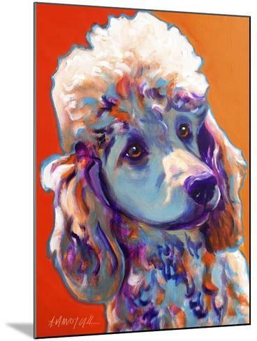 Poodle - Bonnie-Dawgart-Mounted Giclee Print