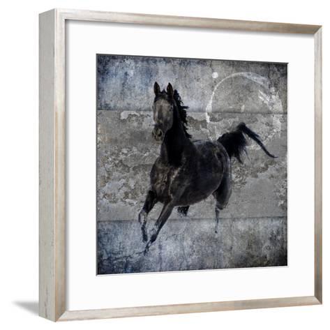 Black Mare 1-LightBoxJournal-Framed Art Print