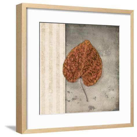 Lodge Leaf 2-LightBoxJournal-Framed Art Print