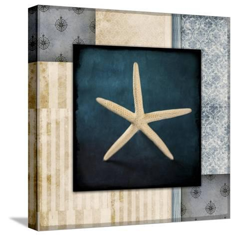 Blue Sea Starfish-LightBoxJournal-Stretched Canvas Print
